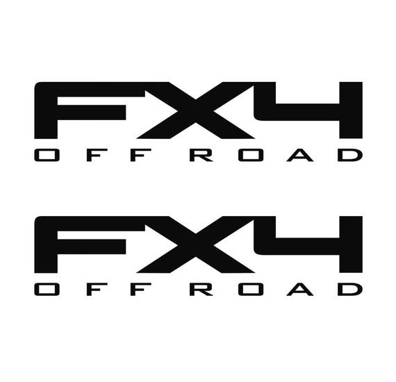ford f150 f250 fx4 off road decals vinyl truck sticker