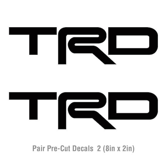 TRD Toyota Tundra Tacoma Sticker Vinyl Decal Vinyl Pre-Cut All