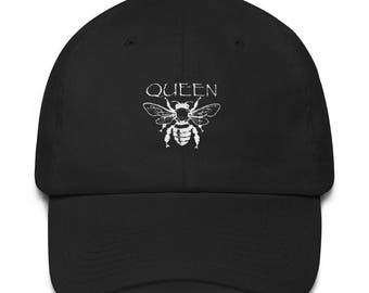 23436e6cdd4f8 Queen Bee Dad Hat GRL PWR