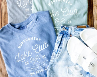 Lake Bachelorette Party T Shirt, Lake Life Comfort Colors Shirts, Girls Lake Weekend Matching Shirts, Lake House, Lake Trip Family Vacation