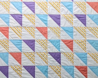 """Modern Baby Quilt """"Clever"""""""