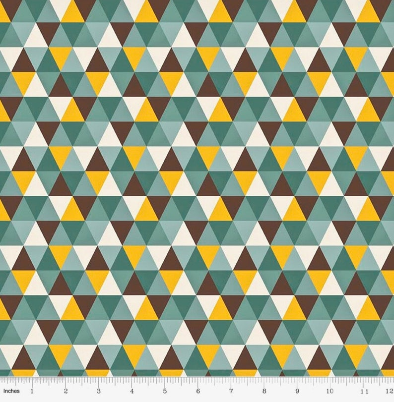 bd57592a2c4 Geometric Fabric by the Yard KNIT Fabric Apparel Fabric Jersey   Etsy