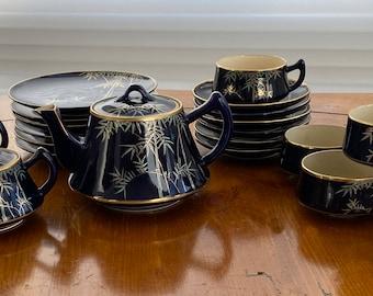 24 piece set hand painted 50/'s china