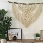 Extra Large macrame wall hanging/ boho decor/ wall hanging/ handmade macrame/ backdrop/ wedding decor