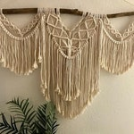Large Macrame wall hanging/ above the bed/handmade/wall hanging/boho decor