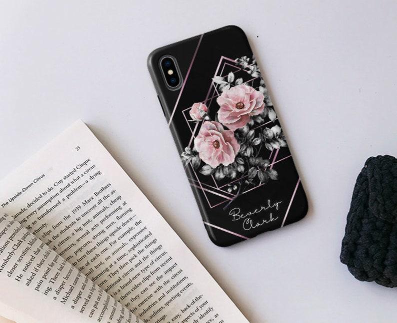 Black floral case Lg stylo 4 case lg g7 lg v40 thinq case lg g6 phone case  LG V30 case LG G6 case, Lg v20 case, Lg Stylus 3, Lg g5 249