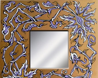Painted mirror / painted mirror
