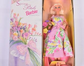 Spring Petals Barbie for Avon