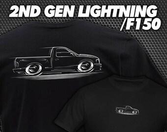 424bdfcfa T-Shirt 1999 - 2004 Ford Lightning F-150 Truck 2000 2001 2002 2003 2nd Gen SVT  F150