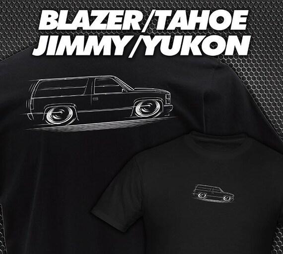 T-Shirt Chevy Tahoe Blazer Yukon Jimmy Chevrolet GMC OBS 1992 1993 1994  1995 1996 1997 1998 1999 2000