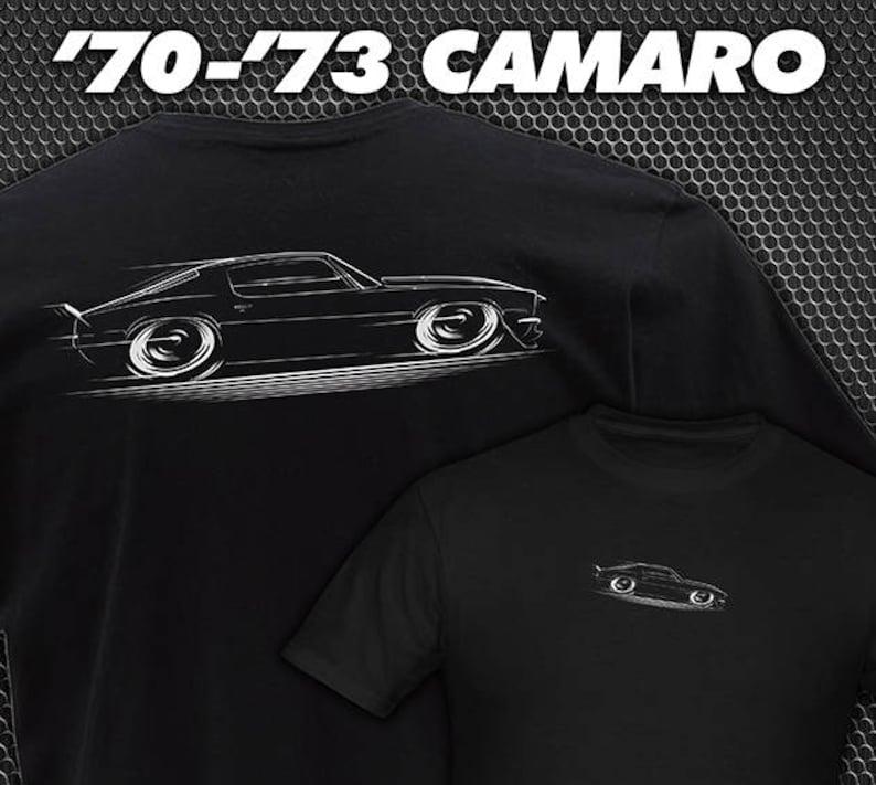 3fea8298 1970-1973 Chevy Camaro T-Shirt 70 71 72 73 Z-28 SS Chevrolet | Etsy