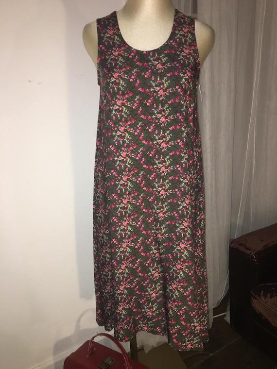 0276c9f0facf Handmade floral viscose summer dress