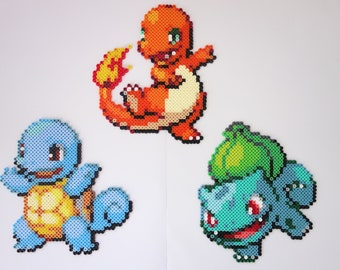 Charmander, Squirtle and Bulbasaur