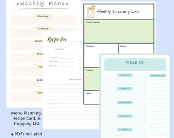 vacation planner travel plans tn insert set instant download etsy