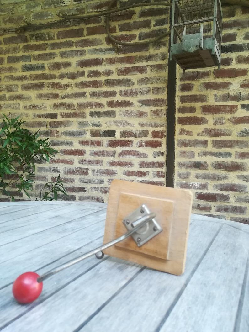 Comment Faire Pour Ouvrir Un Bowling wall hook vintage, vintage coat rack, ball coat rack, mid century, vintage  wood door coat ball 1950, 1950 peg, coat hook