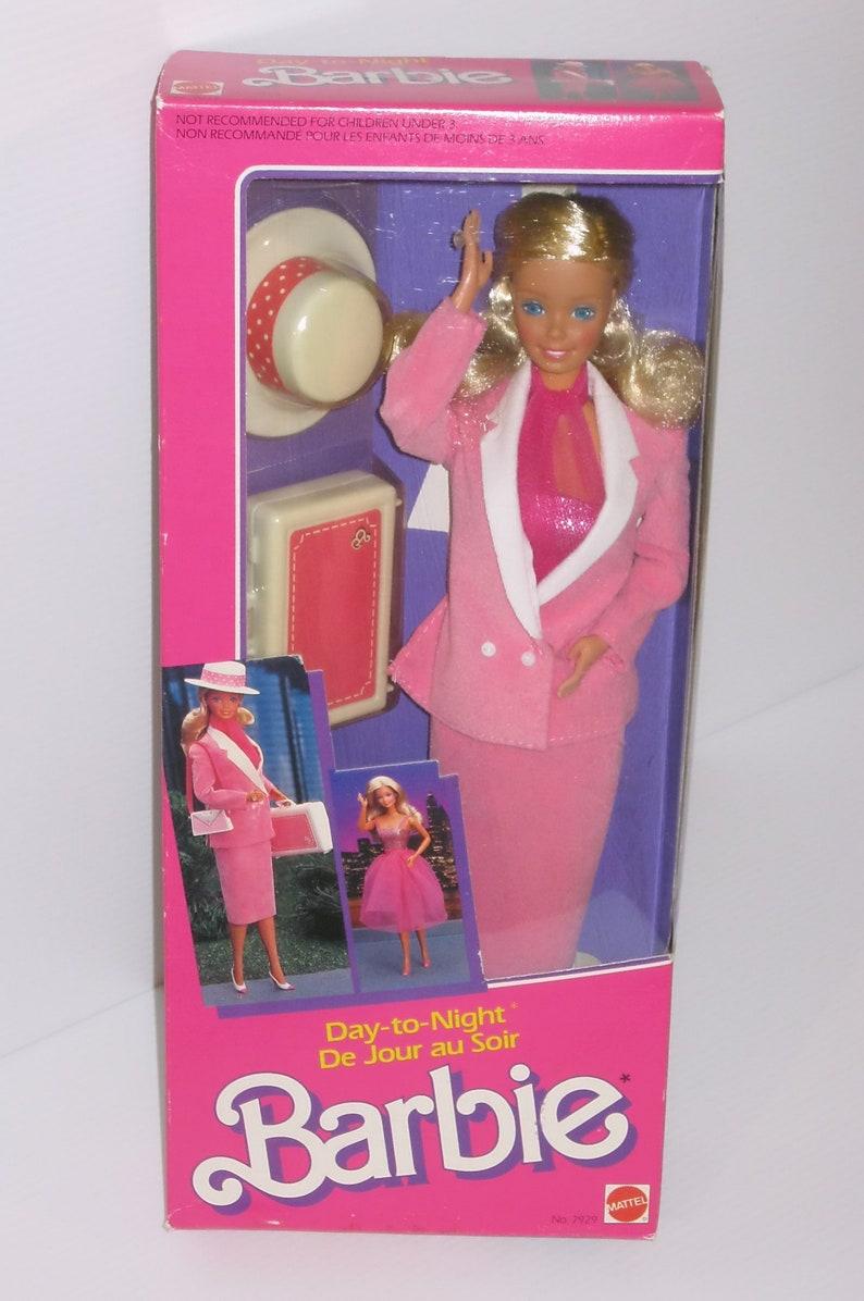 7deed473f4 Vintage Day To Night Barbie doll Du Jour Au Soir NRFB 1984