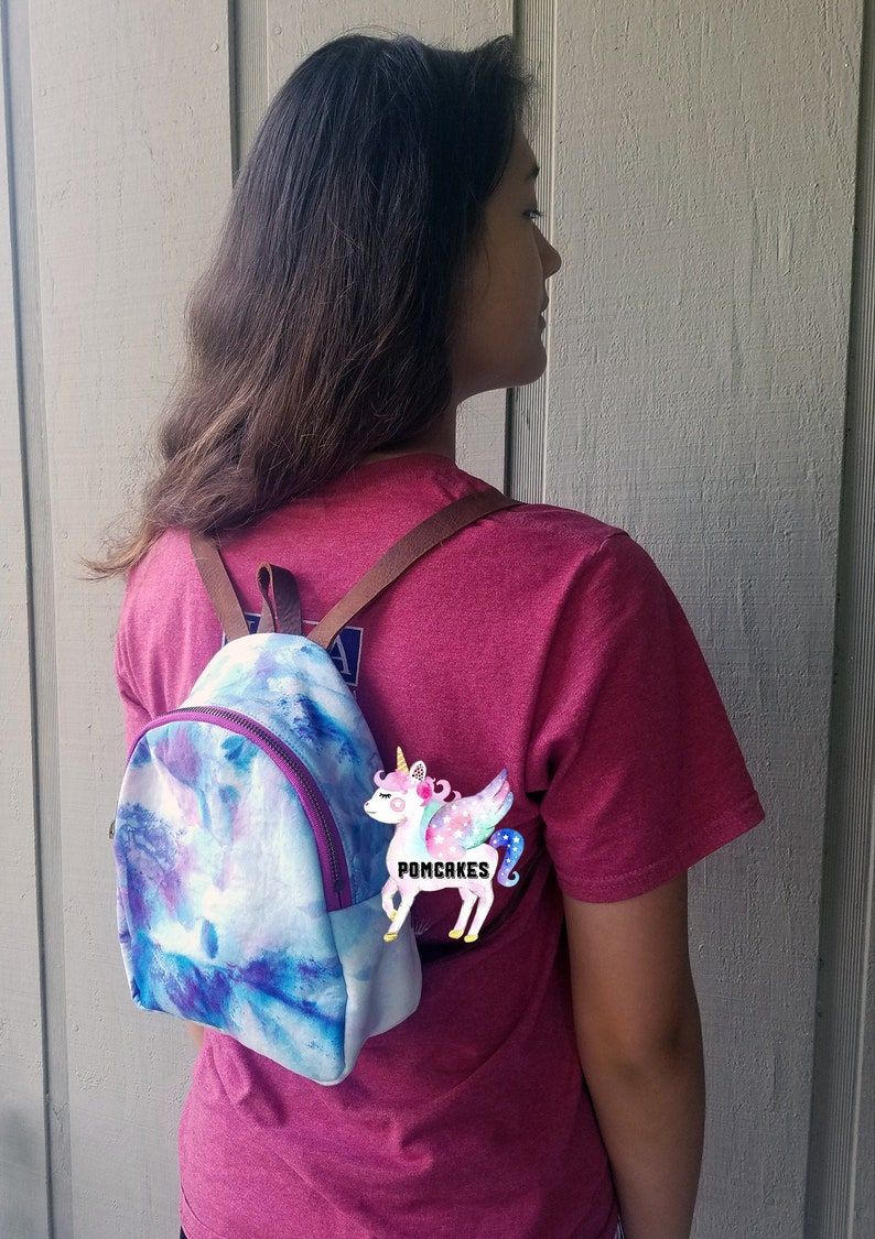 Handcrafted Backpack Purse for Women or Girls made in USA