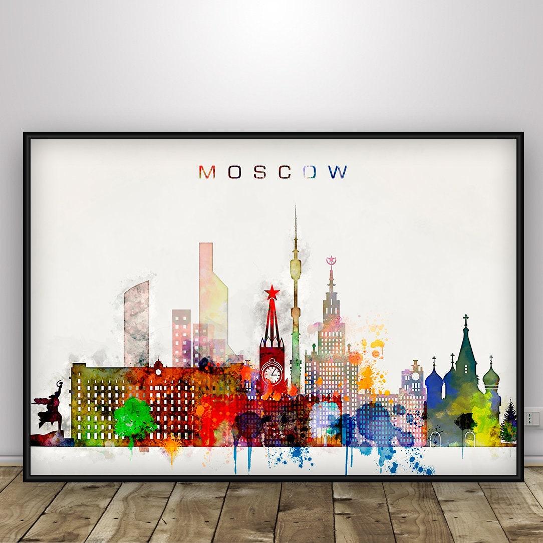 Готовые постеры москва