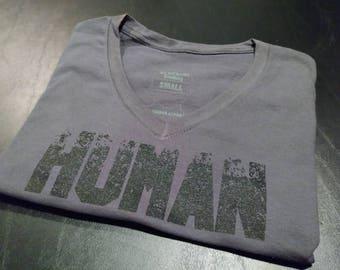 HUMAN - Women's V-Neck T-Shirt