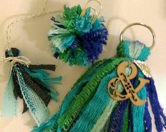 Mermaid tassel set
