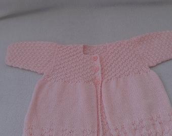 matinee coats ,baby matinee coats,pink coat, baby coats, baby matinee