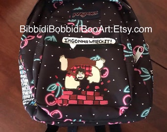 aea96811ff Wreck it Ralph mini cherry backpack