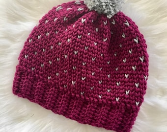 Adult Crochet Hat