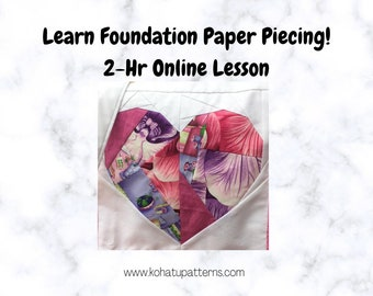 Learn Foundation Paper Piecing 1:1 Training