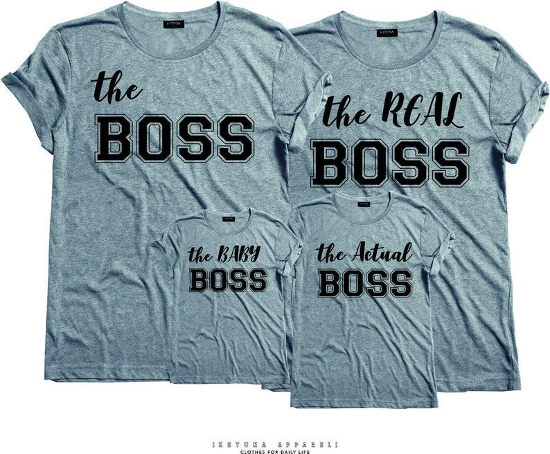 The Real Boss tshirt The boss The real boss shirts,UNISEX-FM10 Couples Tshirts P\u00e4rchen couple Couple matching T-shirt,The Boss Tshirt
