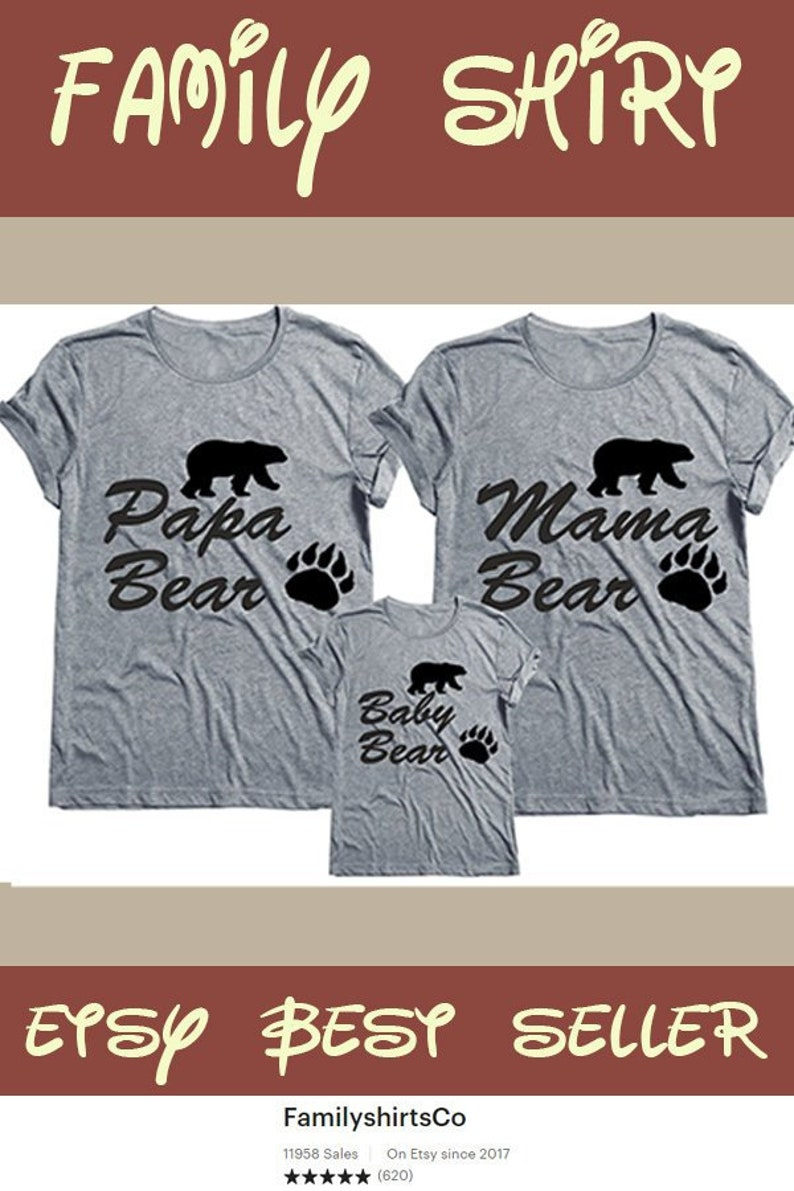 65c25350e9aa Papa Bear Shirt Father's Day Gift Gift Ideas For him   Etsy