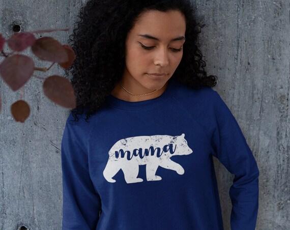 Mama Sweat Shirt   Happy Mama   Mama Bear Sweatshirt   Mama Bear Shirt   Gift for Mom   Mom Life Sweatshirt   Mom of Boys Sweatshirt