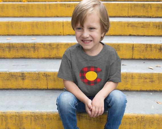 Colorado Baby Bodysuit Baby shirt Colorado kid clothes Colorado baby gift Colorado kid tee Colorado shirt kids Colorado mountain kid tee
