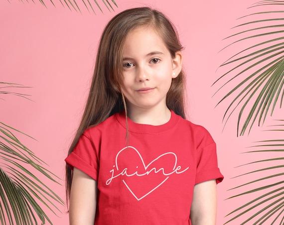 Valentine Shirt, Valentine Shirt For Kids, Kid Valentine's Day Shirts, Toddler Valentines Day, Valentine Graphic Tee, Kid Custom Name Shirt