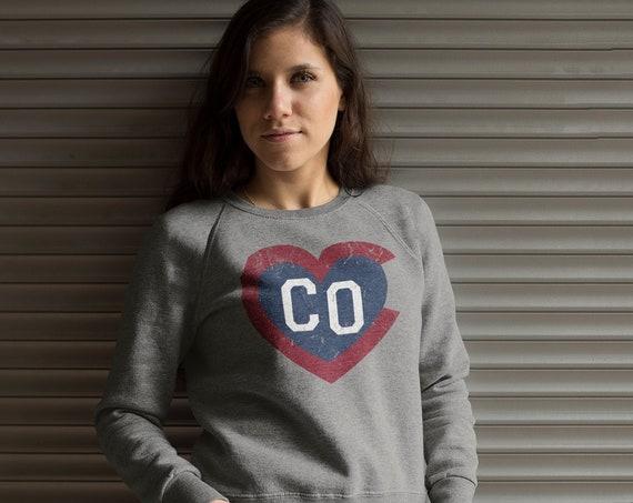 Colorado sweatshirt Colorado clothing Mountains clothes Mountains sweatshirt Colorado Rockies Colorado shirt for women Colorado gift love