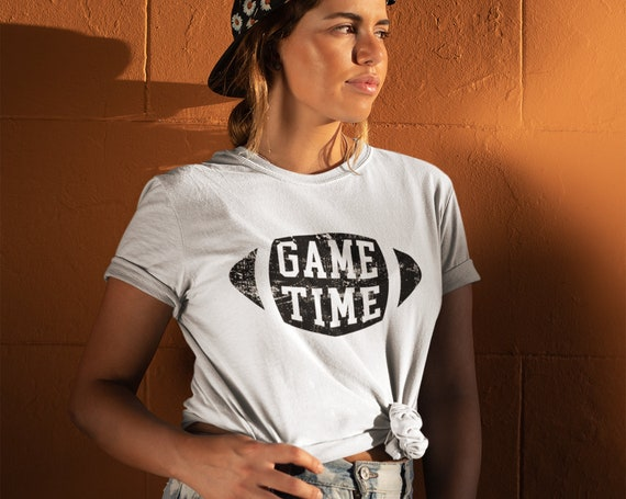 Game Time T-shirt | Game Day Shirt | Football Shirt | Football T-shirt | Football Shirt Women | Sunday Funday Shirt | Football Mom Shirt