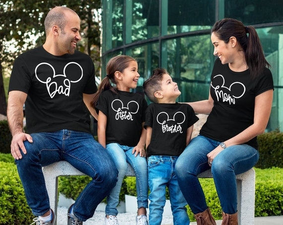 Mouse Family Vacation T-shirts   Custom Family Vacation Tees   Magical Family T-shirts   Personalized Family Shirts   Family Mouse Shirts