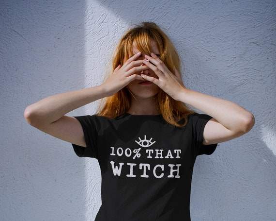 That Witch T-shirt | 100% That Witch Shirt | Halloween Shirt | Fall Shirt | I Just Took a DNA Test Shirt | Funny Halloween Shirts | Witches