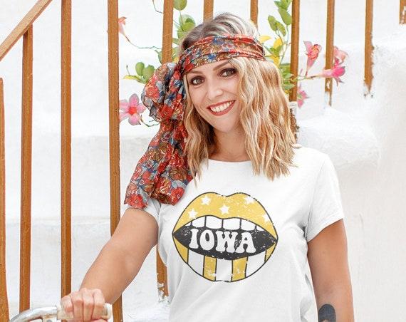 Iowa Shirt, Iowa Gift, Gift for Iowa Student, Corn Fed Shirt, Hometown Iowa USA, Midwest AF Tee, Iowa Clothing, I Love Iowa, Midwest Shirt