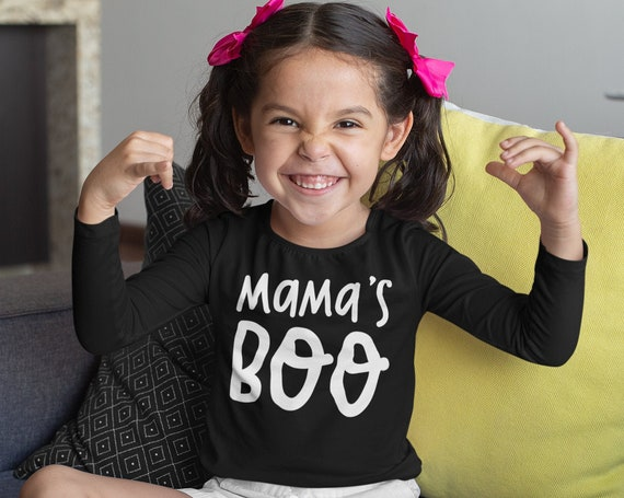 Funny Halloween Kid Outfit | Toddler Halloween Outfit | Boo Halloween Shirt | Baby Bodysuit for Halloween | Long Sleeve Kid Halloween Shirt