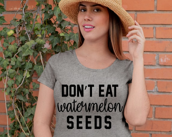 Don't Eat Watermelon Seeds   Funny Pregnancy Shirt   Pregnancy Outfit   Pregnancy Tee   Maternity Shirt   Baby Shower Gift   Preggers Shirt