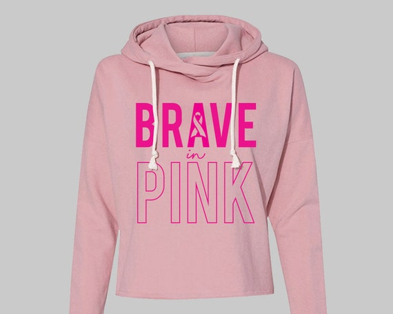 In October We Wear Pink | Breast Cancer Awareness Month | Breast Cancer Awareness Sweatshirt | Pink Charity Shirt | Hope Shirt | Pink Power