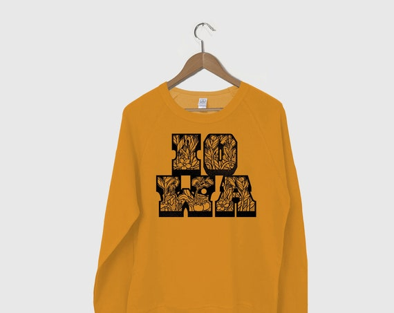 Iowa Corn Sweatshirt, Iowa Gift, Iowa Farm Strong, Iowa Strong Sweatshirt, Iowa Corn Tee, State of Iowa Shirt, Corn Fed, Midwest is Best