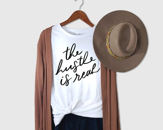 Hustle Hard Shirt | Boss Babe | Girl Power Shirt | GRL PWR Shirt | Feminist Shirt | Hustler Shirt | Women Vote Shirt | Girl Power Tshirt