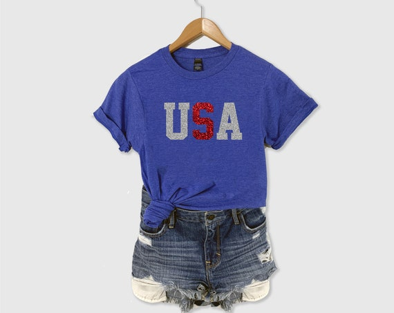 USA Shirt, USA Glitter Shirt, Make America Equal, Patriotic Shirt, American Shirt, Fourth of July Shirt, Small Town USA Shirt, 4th of July