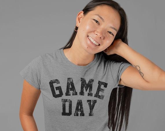 Game Day T-shirt | Football T-shirt | Custom Football Shirt | Sunday Funday Shirt | Touchdown Tee | Sports T-shirt | Funny Football Shirt