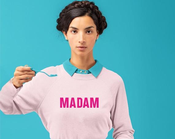 Madam Vice President Sweatshirt, Madam Shirt, Feminist Sweatshirt, Kamala Harris VP Sweatshirt, I'm Talking Sweatshirt, The Future is Female
