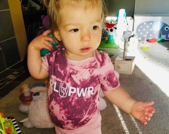 Girl Power Shirt for Kids | Girl Power Kid Tee | GRL PWR Shirt | Kid Tee | Feminist Shirt for Kids | Girl Gang Shirt for Kids | Tie Dye