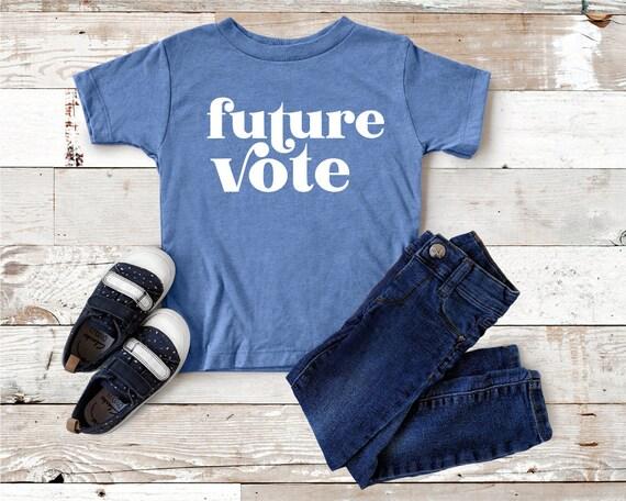 Future Vote Youth T Shirt | Kids Political Shirt | Vote Shirts for Kids | Vote for our Future | Future President Shirt | 2020 Vote Kid Tee
