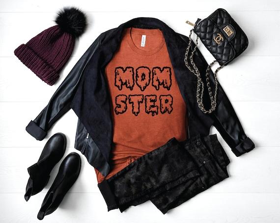 Momster T-shirt | Mom Monster Shirt | Mom Halloween Shirt | Mom Shirt | Momster Halloween Shirt | Cute Halloween Shirt | Mommy Monster Shirt