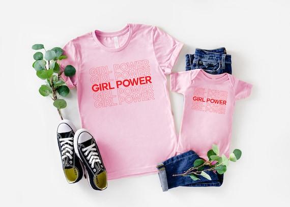 Girl Power Shirts   Mommy and Me Shirts   Mommy and Me Outfits   Matching Girl Power Shirts   Girl Power Girls Shirt   Feminist Shirt